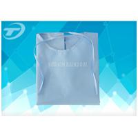Hospital Medical Disposable Scrub Suits PP White / Cloth Surgical Gowns Manufactures