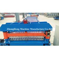 Metal Color Corrugated Roll Forming Machine With 18 Stations Forming Rollers Manufactures