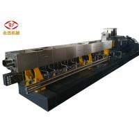 Screw & Barrel Extruder PVC Pelletizing Machine Three Stages Air Transmission Manufactures