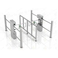 Security Automatic Pedestrian Swing Barrier Gate Government Passage Turnstiles Manufactures
