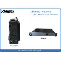 Buy cheap Broadcast COFDM HD Video Transmitter Full HD Wireless Microwave Transmitter Camera Mounted from wholesalers