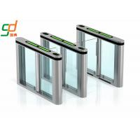 Single Pole Automatic Systems Turnstiles Bi Directional Swing Barrier Gate Manufactures