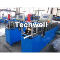 Light Steel Truss Stud Roll Forming Machine Thickness 0.4-1.0mm , 70mm Axis Diameter Manufactures