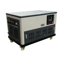 China Water cooled 30kw portable gasoline generator genset 4 cylinder engine enclosure auto start on sale