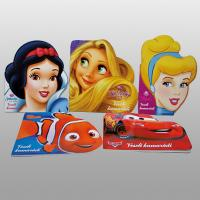 Disney Story Childrens Hardback Book Printing Services With Boardbook Binding Manufactures