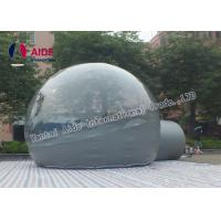 Semi - Transparent PVC Inflatable Event Tent Outdoor Bubble Tent Customized