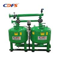 Stainless Steel Irrigation Sand Filter , Cooling Water Recycle 28 Inch Sand Filter Manufactures
