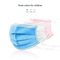 Surgical Earloops Kids 3 Layers Disposable Face Mask Manufactures