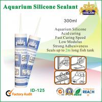 300ml Waterproof Silicone Sealant / Heat Resistance Silicone Adhesive For Glass Manufactures