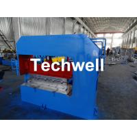 Hydraulic Arch Roof Bending Machine , Roofing Sheet Making Machine High Speed Manufactures