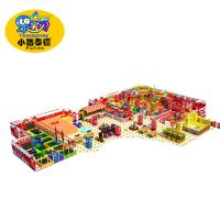 Big Capacity Soft Indoor Playground Equipment European Standard Environmental Protection Manufactures