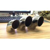 Stainless Steel 90 Degree Elbow Curved Tube Elbow Polished / Satin Finished Manufactures