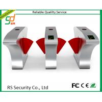 Automatic Stainless Steel Controlled Access Turnstile Entry Systems 1200*165*980mm Manufactures