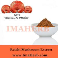 Organic and GMP whole sale reishi mushroom extract powder with polysaccharide 30% Wholesale Manufactures