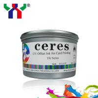 Ceres UV offset printing ink YK series CMYK for all kinds of cards Manufactures