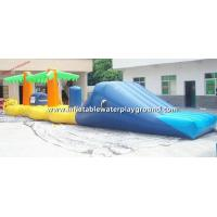 Kids Outdoor Activity Inflatable Water Games Rentals For Swimming Pool Manufactures
