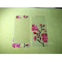 Buy cheap 3D Flowers Diamond Tempered Glass Screen Protector Flim for iPhone 5 iPhone 6 from wholesalers