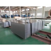 Edge Cutted 1100mm Wide Cold Rolled Sheet Steel , Flat Steel Sheets With Dull Surface Manufactures