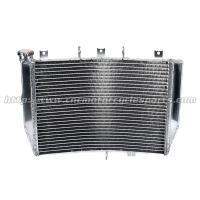 Quality 100% Hand Welded Full Aluminum Motorcycle Radiators For KAWASAKI ZX10R ZX-10R for sale