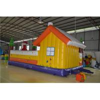Outdoor Inflatable Sports Games Durable 0.45mm Plato PVC Tarpaulin Manufactures