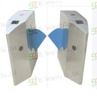 Quality Intelligent Retractable Flap Barrier Gate Wheelchair Or Luggage Turnstile for sale