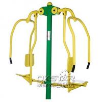 outdoor fitness equipments steel based zinc powder coating Chest Press-OK-Z03 Manufactures