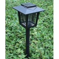 Quality 2 In 1 Solar Path Lights Outdoor Insect Killer Bug Zapper Mosquito Killer Light  for sale