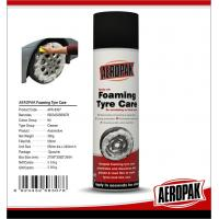 Anti Fading Car Care Products Foaming Wheel And Tire CleanerDissolves Dirt / Oil Manufactures