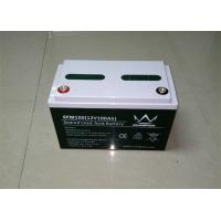 Rechargeable 12v 100ah Deep Cycle Solar Lead Acid Battery Agm Vrla Battery Manufactures