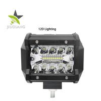18W Off Road Led Work Light Bar 3 Rows Water Resistance Easy Installation Manufactures