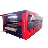 T - Shirt Printing Fabric Laser Cutting Machine Digital With Feeder / Odor Controller Manufactures
