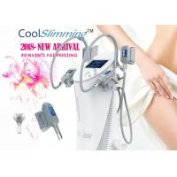 4 Handles Cryo Fat Freezing Machine Equipped With Self Cleaning System Manufactures
