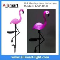 Pink Flamingo Solar Stake Light Solar Garden Decor Lights Solar Path Lights Manufactures