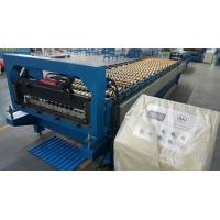 Corrugated Sheet Roll Forming Machine / Roofing Sheet Roll Forming Equipment Manufactures