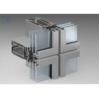 Quality Exposed - Frame Aluminium Curtain Wall Thermal Break Insulation Systems for sale