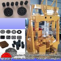 Buy cheap wood working machinery honeycomb or cylinder shape charcoal briquette machine from wholesalers