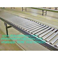 Roller conveyor for transporting tomato, apple, and other fruits and vegetables and heavy goods, conveying machine Manufactures