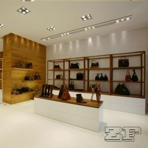 High quality wall handbag display shelf for sale Manufactures