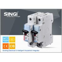 Breaking capacity reach to 10000 C25 1p waterproof miniature circuit breaker (mcb) Manufactures
