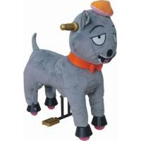 Lovely Gray Wolves Plush Stuffed Toys Small Soft Animals , Gift For Children Manufactures