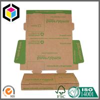 Easy Set Up Folding Color Print Corrugated Cardboard Carton Shipping Box Mailer Manufactures