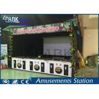 Amusement 3D Coin Operated Arcade Machines Target Shooting Simulator Manufactures