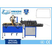 Full Automatic Wire Bending and Butt Welding Machine , Steel Wire Bender Manufactures