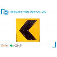 China IP54 Solar Powered Traffic Signs with high reflective , Solar Powered Road Signs on sale