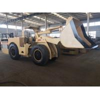 1 Cbm Electric Underground Mining Loader 2000kg Ully Hydraulic Control Drive Manufactures