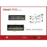 Indoor LED Display Signs Parking LED Display Green And Red 760*152mm Manufactures