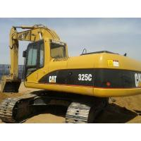 93% UC Used Cat Excavator 325C , Used Excavating Equipment With 1.3cbm Bucket Manufactures