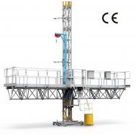 Buy cheap 1500Kg Payload Mast Climbing Work Platform For Building Construction , High from wholesalers