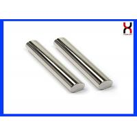Permanent Rare Earth Neodymium Magnetic Bar / Rod 12000GS 25 * 100MM Coating SS304 / 316 Manufactures