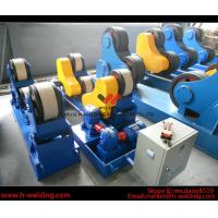 80 Ton Full-Automatic VFD Control Pipe Welding Rotators For Cylinder Seam Welding Manufactures